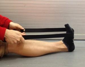 Osteopathy calf stretch
