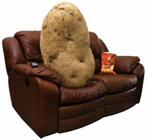 Osteopathy couch-potato
